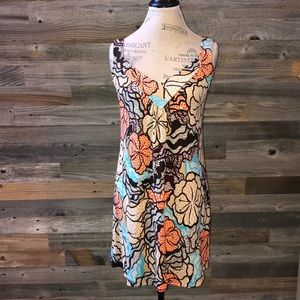 Diane Von Furstenberg silk mini floral dress 4